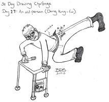 31 Day Drawing Challenge by SometimesDrawings