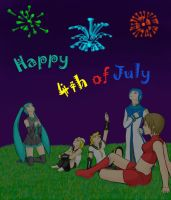Vocaloids::Enjoying the 4th by etergen