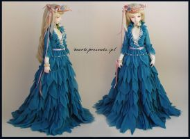 Blue Fairy Dress by ball-jointed-Alice
