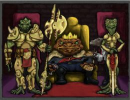 The Toad King by JMarcDodsonJr