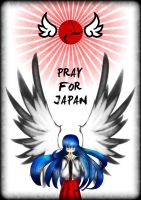 Pray for japan by kaiomutaru25