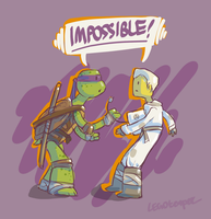 IMPOSSIBLE! Zane and Donnie by skcolb