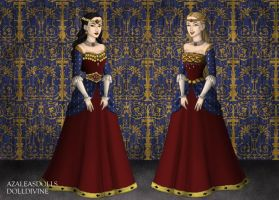 Tudor Style Wonder Woman and Wonder Girl by LadyIlona1984