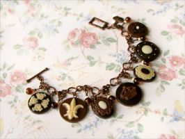 Chocolate bracelet by allim-lip