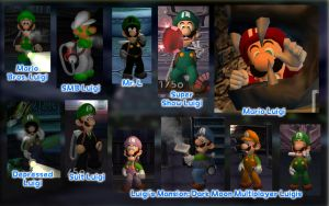 Luigi's Mansion Costume Pack 1 by GEO-GIMP