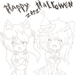 Happy Hallowen 2012 by xXsakura1989Xx