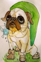 Pug Link by seagnomes