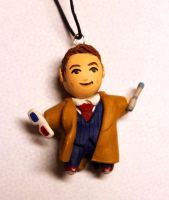 Doctor Who Necklace by crymsonlyze