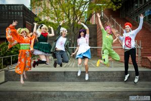 Dangan Ronpa Group by FallingFeathers