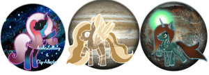 OPEN|Collab MLP Adopts|Galaxy/Planet Themed by AcidicAdopts