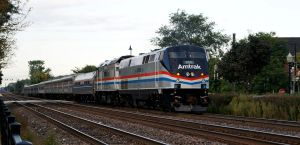 Amtrak P40 822 phase 3 by JamesT4