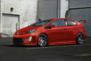 Toyota Prius Modifications by GUZSPEED