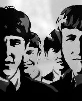Beatle mania by LilFairie