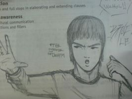 misplaced art no.2: bruce lee? by ryuzo13