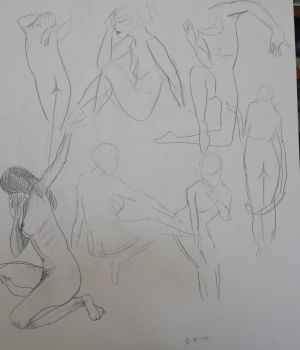 Life Drawing 7 by FinalAdventure96