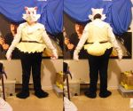 Braixen Cosplay WIP 3 by unownace
