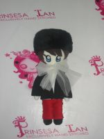 SUPER JUNIOR KYUHYUN PERFECTION CHIBI DOLL 12quot by prinsesaian