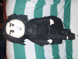 Severus Snape doll by OryanSparrow