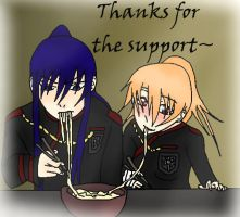 Thank you from Kanda and Chihiro :D by albertxlailaxx