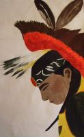 'Young Powwow Dancer' by cold-xx