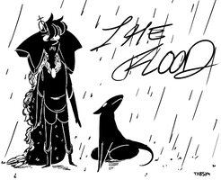 [THE FLOOD] title card by daft-class