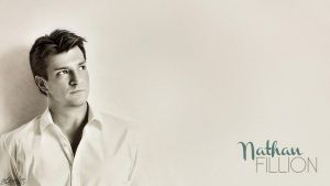 Minimalistic Nathan Fillion by GhostLinz
