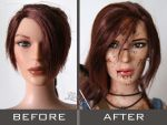 COMMISSION OOAK Tonner doll_Tomb Raider (2013) by Laragwen