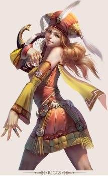 MMO Game Character design Riggs by yuchenghong