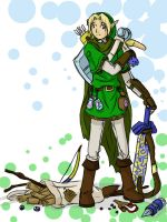 OoT Link by animepanfan