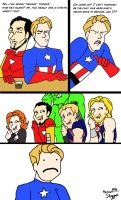 Avengers: Late Night Fondue by greenfairy87