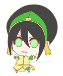 Chibi Toph: The Promise by moehoshi-ii