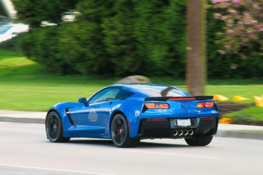Racing Blue by SeanTheCarSpotter