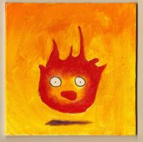 Calcifer by cattyinlove