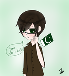 Aph Pakistan with Glasses by Locked-Visions