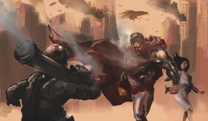The Fall of Metropolis by Draw-Ben-Draw