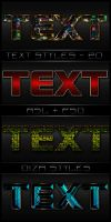 Text styles - 20 by DiZa-74