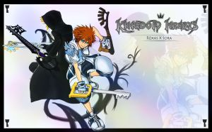 Kingdom Hearts Roxas X Sora by Marshal91