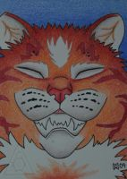 Chesire ACEO ATC by grygon