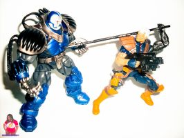 Cable Vs Apocalypse 2 by MsComicStar86