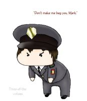Don't make me beg you, Mark by Daisy-of-the-wolves