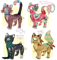 Cykitty Adopts (CLOSED) by meteorcrash