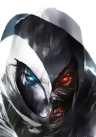 Moon Knight - Shadow Knight by Aspersio