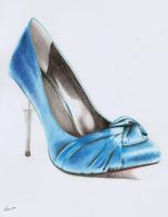 Blue shoe by Lilma1