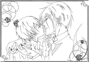 .:Sebastian and Ciel:. by jusoks
