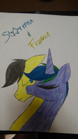 Requested- Frankie and Starmist by CARTOONFANATIC3