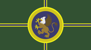 Griffon Empire flag by lonewolf3878