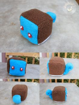 Squirtle Plush Cube by elirift