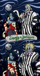 Squigly vs. Beetlejuice by Xenia-Cat