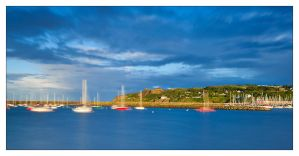 Howth Harbour by M-M-X