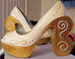 Madeline Hatter Shoes by AliceingJabberwocky